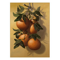 """Oranges"" Canvas Painting by H. Hargrove, 16""x12"""