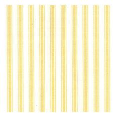 Taffeta Ticking Fabric, Ticking Yellow, 54''x36''
