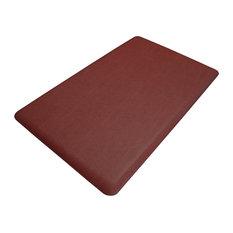 Multi-Purpose Grasscloth Comfort Mat, Crimson
