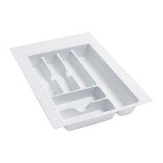 "Rev-A-Shelf Gct-2w Cutlery Tray 14-1/2"" W Gloss White"