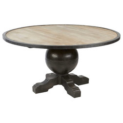 Beautiful Industrial Dining Tables by Kathy Kuo Home