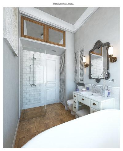 Современная классика Ванная комната by ARTSPACEBURO