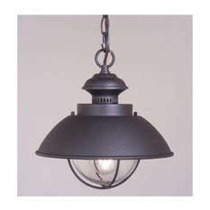 vaxcel lighting vaxcel lighting od21506tb harwich outdoor hanging light textured black outdoor hanging