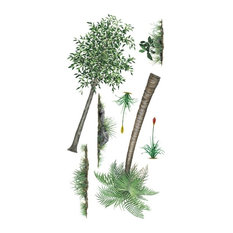 Tree & Grass Economy Size Wall Decal