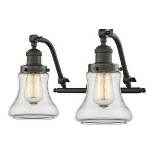 "Innovations Lighting 515-2W Bellmont Bellmont 2 Light 18"" Wide Bathroom Vanity"