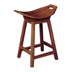 Amish Mission Swivel Stool Amish Furniture Oak