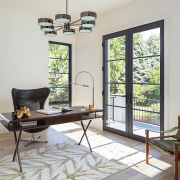 French Modern Spec Home-Office space