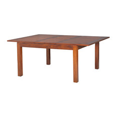 Lauren Extendable Square Dining Table, Chocolate