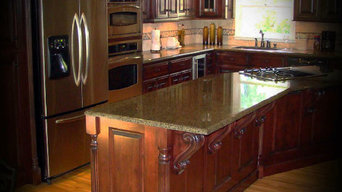 Kitchen by customer Archer Cabinets & Countertops