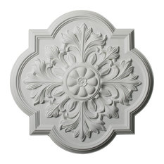 """20""""OD x 1 3/4""""P Bonetti Ceiling Medallion, Fits Canopies up to 5 1/8"""""""