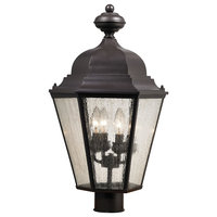 Thomas Lighting Cotswold 4 Light Outdoor Post Lamp, OR Bronze, 8903EP-75