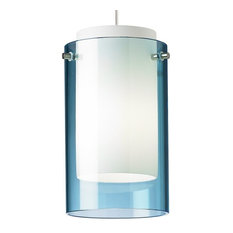 Low voltage pendant lighting houzz tech lighting mini echo 1 light freejack low voltage pend aquamarine glass pendant aloadofball Image collections
