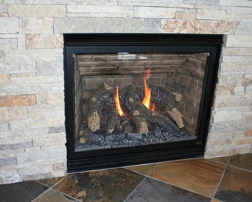 Sunroom Addition - Indoor Fireplaces