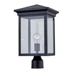 Gable 1 Light Post Light or Accessories in Black