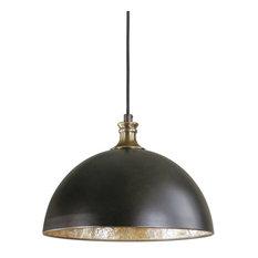 Placuna 1-Light Bronze Pendant