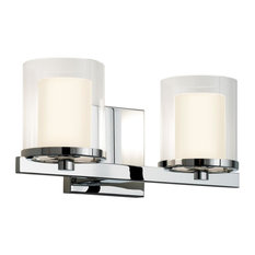 Votivo 2 Light Wall Sconce in Polished Chrome