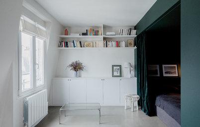 Petits espaces : comment séparer un coin nuit avec un rideau ?