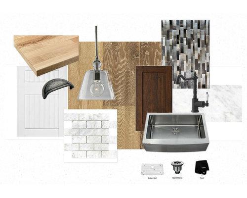 Lux kitchen sampleboard - Kitchen Cabinetry