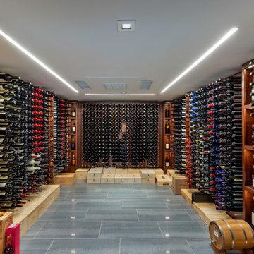 Midcentury Wine Cellar