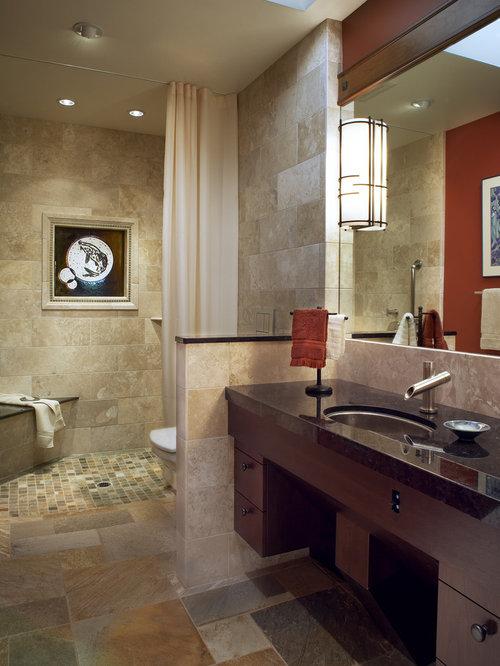 Best Half Wall Toilet Shower Design Ideas Amp Remodel Pictures Houzz