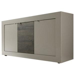 Dolcevita 3-Door Beige Sideboard