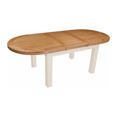 Julia Heavy Oval Extension Table