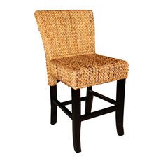 Abaca Copa Cabana Woven Counter Stool