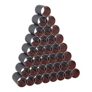 Cylinder Wine Rack, Set of 36