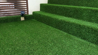 Artificial Grass at Terrace House Balcony