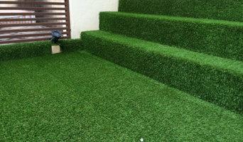 Artificial Grass at Terrace House Balcony