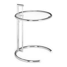 midcentury modern side table chrome and glass side tables and end tables