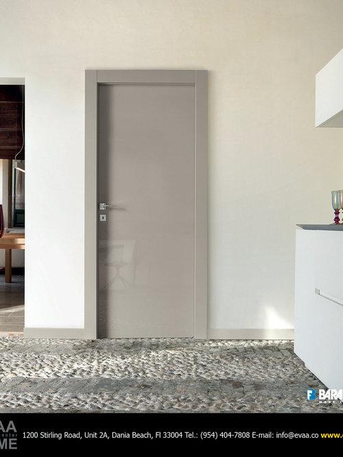 Italian interior doors houzz inspiration for a modern home design remodel in miami planetlyrics Gallery
