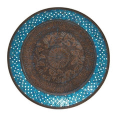 Kenburg Metal Mosaic Wall Platter