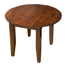 """A-America Mason 42"""" Round Drop-leaf Table"""