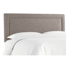Ana King Upholsterd Border Headboard, Zuma Feather