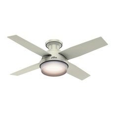 Drum light ceiling fans houzz hunter fan company hunter dempsey 44 4 blade led indoor ceiling fan fresh aloadofball Image collections