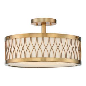 Savoy House Europe Spinnaker Semi-Flush Lamp