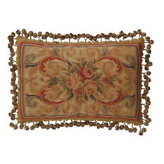 Throw Pillow Aubusson Flourished Flourish