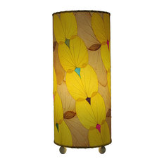 Outdoor Indoor Butterfly Table Lamp, Yellow