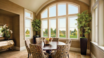 Double Hung Windows with Transoms Above