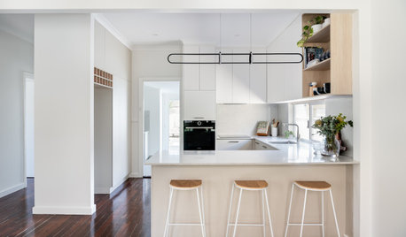Room of the Week: The Warming Up of a Simple Baker's Kitchen