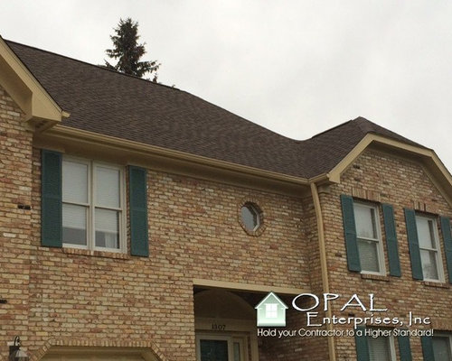 Gaf Timberline Barkwood Hd Shingle Roof In Naperville