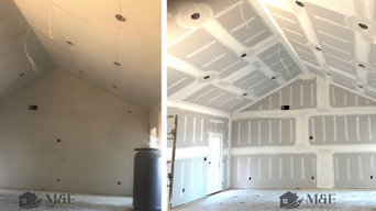 Residential Drywall Installation, Taping, and Finishing