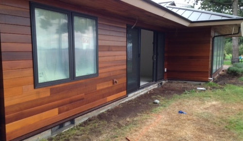 Clear Vertical Grain Western Red Cedar Siding
