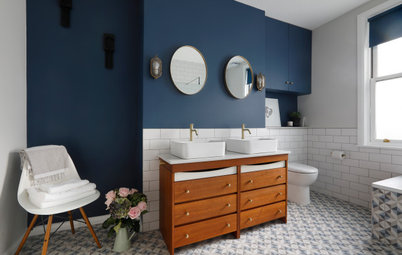 How to Turn a Piece of Vintage Furniture Into a Vanity Unit