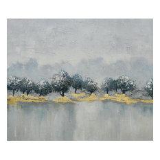 Art Painting, Gold/White
