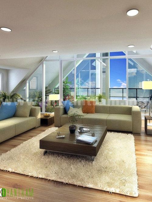 SaveEmail. Modern 3d Interior Rendering