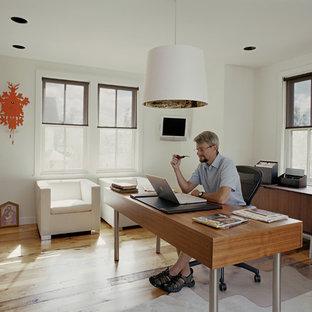 Home design - eclectic home design idea in Denver