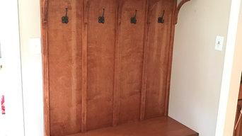 Mud room built in
