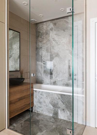 Современный Ванная комната by Pogorelova Olga Designer